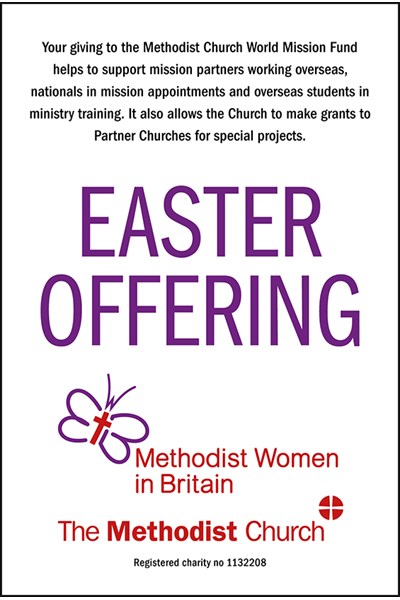 Easter Offering Collection Envelope