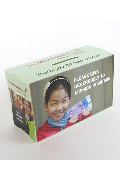 MISSION IN BRITAIN FUND COLLECT BOX
