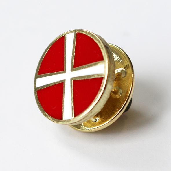 Methodist lapel pin badge metal mm diameter