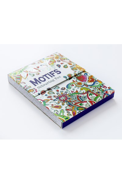 Mini Magnetic Colouring Pad (motifs)