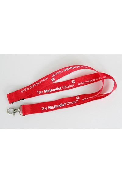 Methodist Church Lanyard