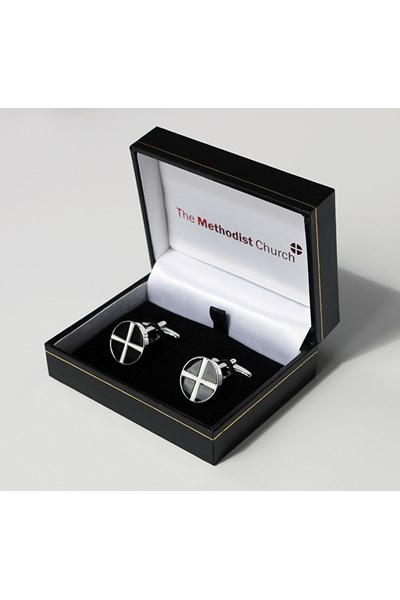 Cufflinks (black and white)