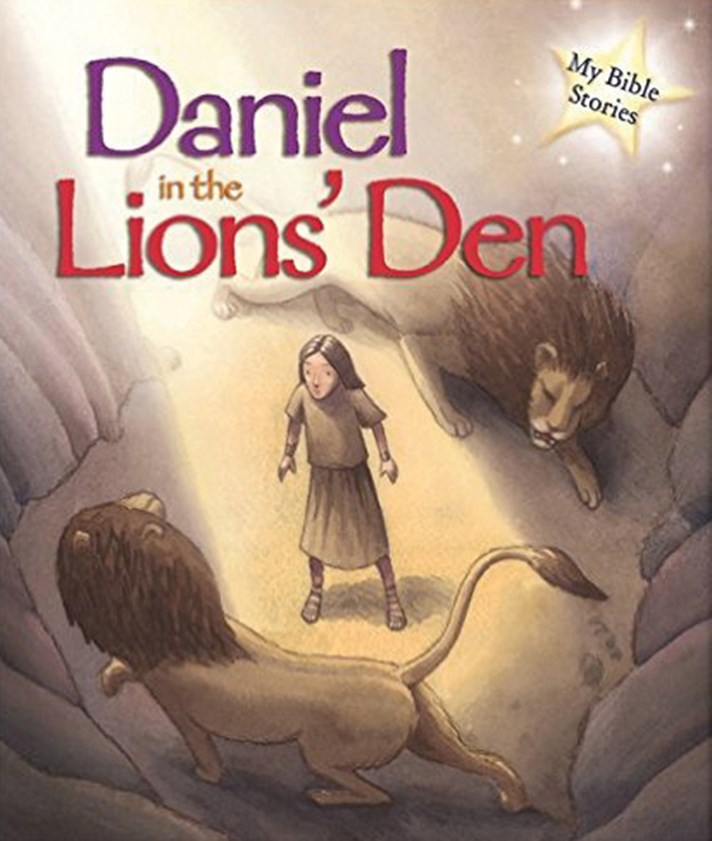 Daniel In The Lions Den By Sasha Morton 226 X 198mm Hardback
