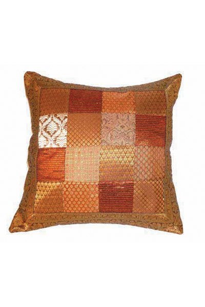 Cushion Cover, brown/gold