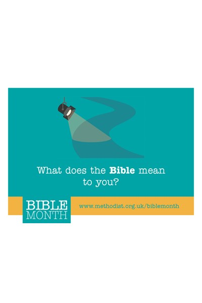 Bible Month Question Cards
