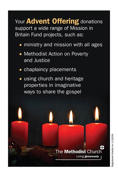 Advent Offering Collection Envelope