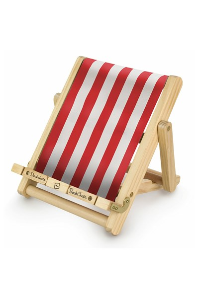 Red Stripy Book Chair