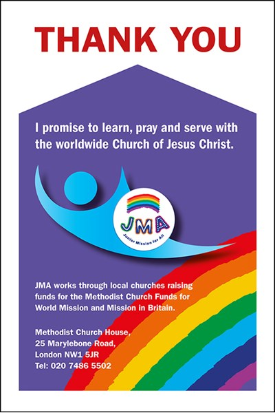 JMA Collection Envelope