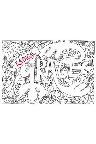 Radical Grace Postcards - pack of 8