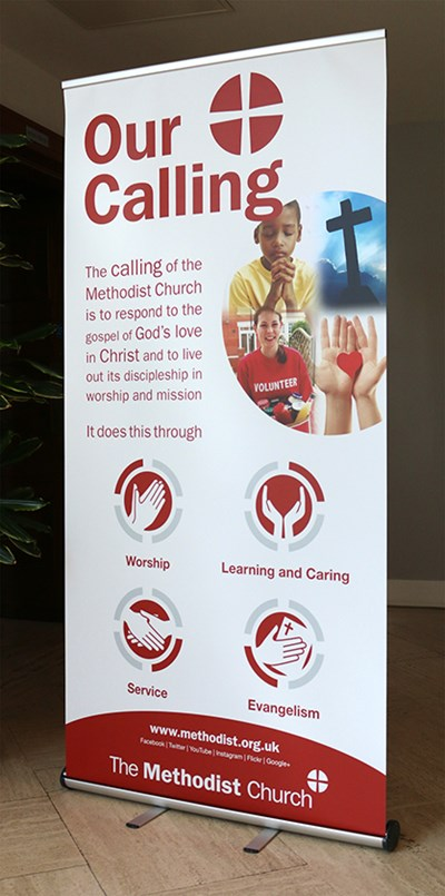 Our Calling Pop-Up Banner