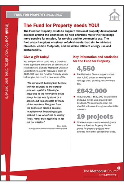 Fund for Property - information sheet
