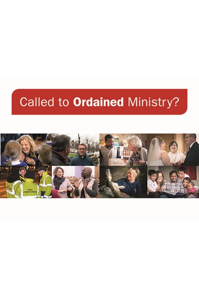 Called to Ordained Ministry Postcards