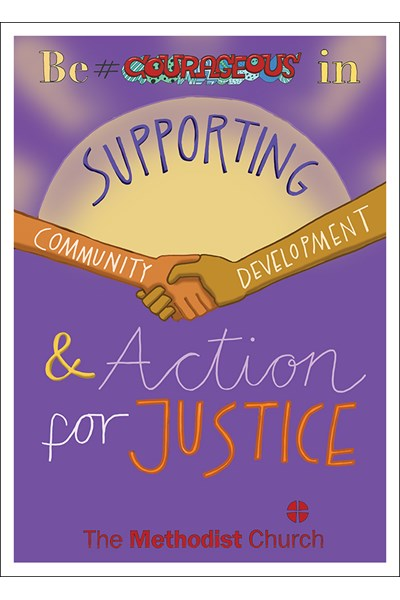 Our Priorities Poster: Community development and action for justice