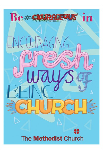 3Generate Poster: Fresh ways of being Church