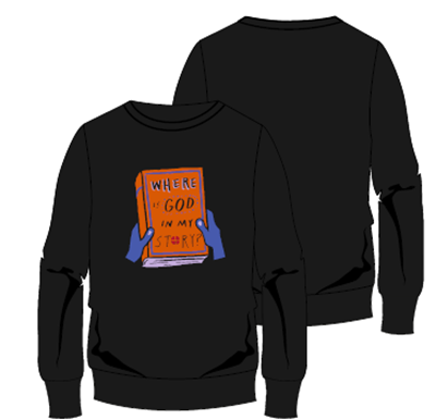3Generate Where is God in my Story? sweatshirt