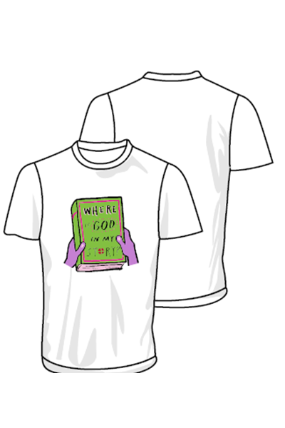 3Generate Where is God in my Story? t-shirt