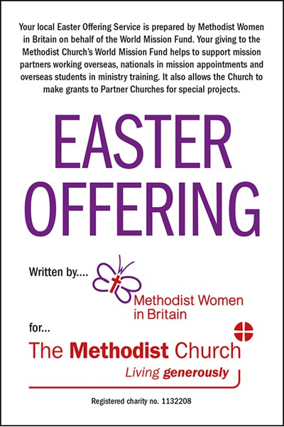 Easter Offering Collection Envelope - English