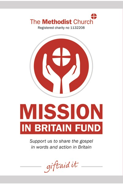 Mission in Britain Fund collection envelope