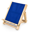 Blue Deckchair Book Chair