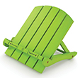Green Adirondack Book Chair