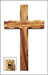 Olivewood Cross with Hanger - large, 20 cm